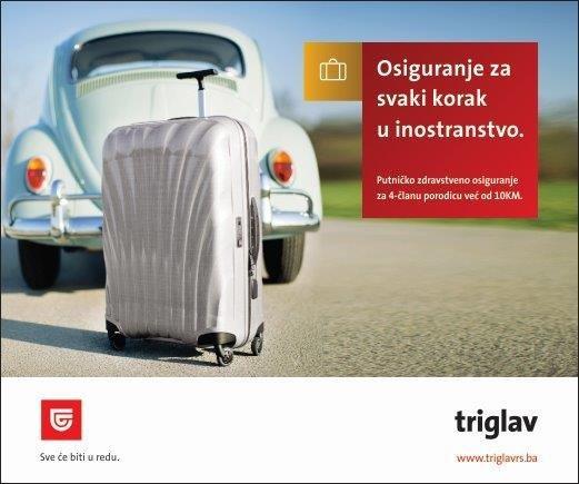 Triglav osiguranje - Osiguranje za svaki korak u inostranstvo
