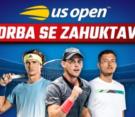 """US OPEN: Nadamo se novim iznenađenjima, jer gledamo četvrtfinale bez ,,VELIKE TROJKE""""!"""