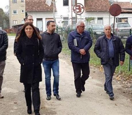 """DOBOJ: Jerinić najavio pomoć za uređenje dijela """"Usore"""""""