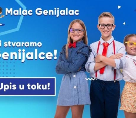 Malac Genijalac - za djecu koja mijenjaju svijet