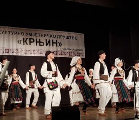 """DOBOJ: KUD """"Krnjin"""" održao godišnji nastup, sredstva od ulaznica za nabavku nošnji"""
