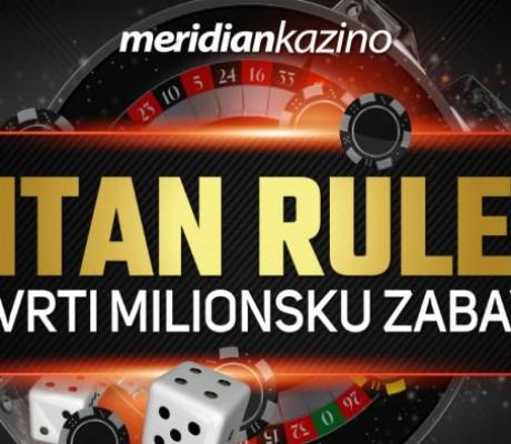 Meridian: Titan Rulet – nova dimenzija najvećih dobitaka!