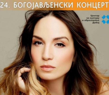 DOBOJ: Jelena Tomašević na Bogojavljenskom koncertu