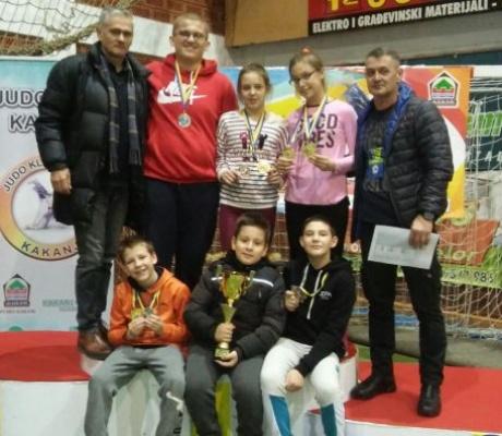 DOBOJ: Žetva medalja za džudiste Athlete M u Kaknju (FOTO)