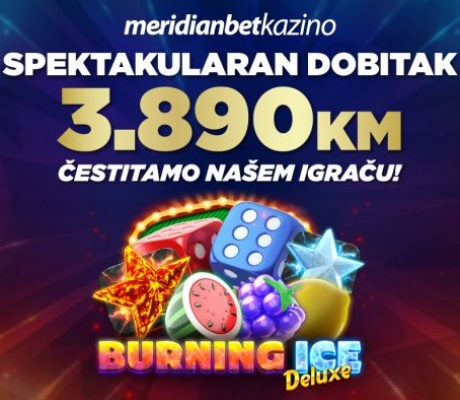 BOMBASTIČNI DOBITAK: Igrač u MERIDIAN onlajn kazinu iz jednog spina osvojio NEVJEROVATAN DOBITAK!