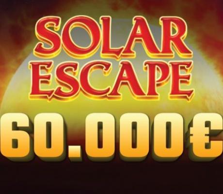 Meridian online kazino: Fenomenalni Solar Escape turnir sa fondom od 60.000 EURA!