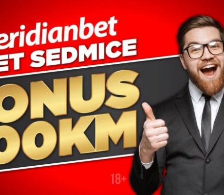DECEMBARSKA PONUDA U MERIDIANU: Za najbolji sedmični tiket 500 KM bonusa