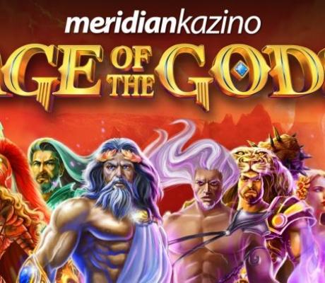 MERIDIAN KAZINO: Džekpotovi u igrama – Age of the Gods!