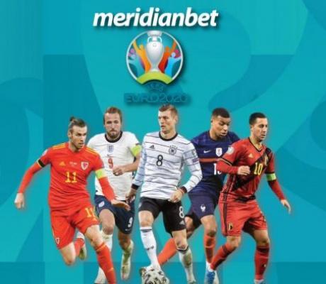 Meridian najveće kvote za EURO 2020: RUSIJA 1.80, ITALIJA 1.80! BETBUILDER ITALIJA – 9.33!