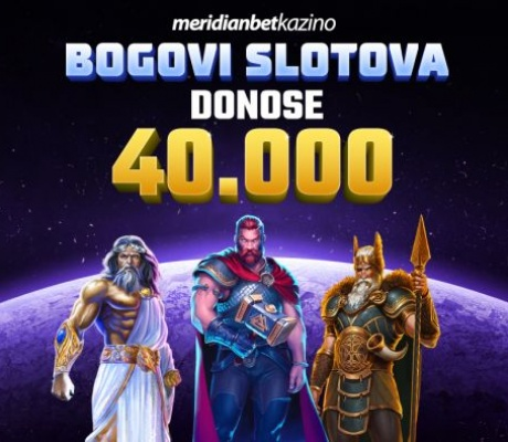Meridian BOGOVI! Fond nagrada od čak 40.000 KM!