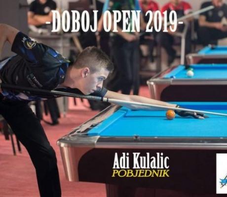 """DOBOJ: Adi Kulalić osvojio """"Doboj Open"""" (FOTO)"""