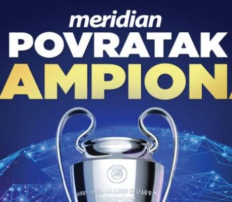 LIGA ŠAMPIONA: Najelitnije takmičenje Evrope sa najelitnijim bonusom od 1.001%!