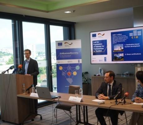 Javni poziv za prijavu interesa za projekte u oblasti turizma i ublažavanje utjecaja krize covid-19