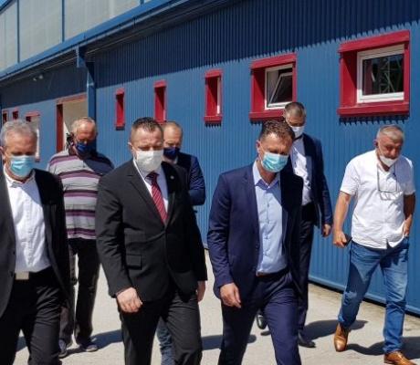 """DOBOJ: Od septembra u pogonu fabrika za pocinčavanje """"Dobojineks"""""""