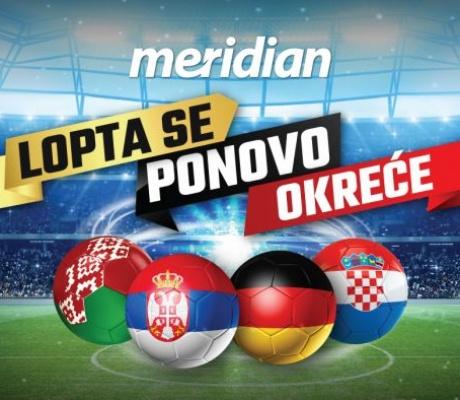 Sve više fudbala, Meridianbet ima ponudu za poželjeti