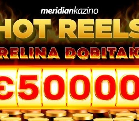 Meridian Online Kazino: Zabava vrijedna 50.000€!