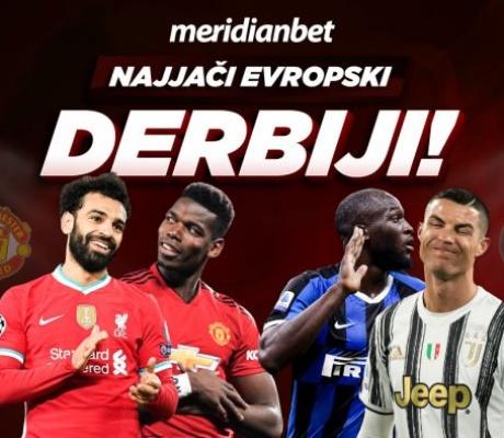 "DAN ""D"" EVROPSKIH DERBIJA: Liverpul – Mančester Junajted i Inter – Juventus!"