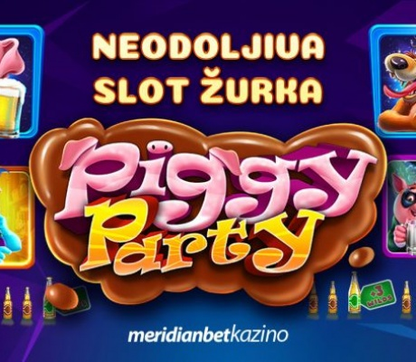 PIGGY PARTY: Pridruži se neodoljivoj slot žurci i pokreni zabavu