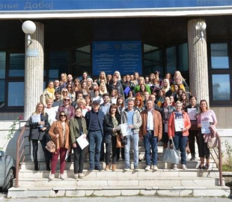 """DOBOJ: Održan seminar """"Strategije učenja i poučavanja"""" (FOTO)"""
