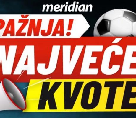 NAJVEĆE KVOTE NA PLANETI za La Ligu i Seria A: INTER 2.20, ATL. MADRID 1.80!