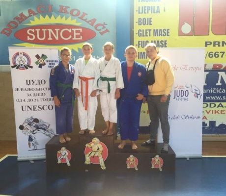 DOBOJ: Četiri takmičara, četiri medalje za džudiste Athlete M (FOTO)