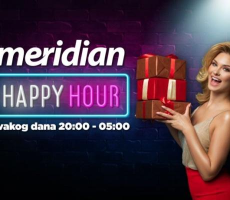 MERIDIAN PAZI NA VAS: Zdravlje i zabava mogu zajedno – probajte Happy Hour!