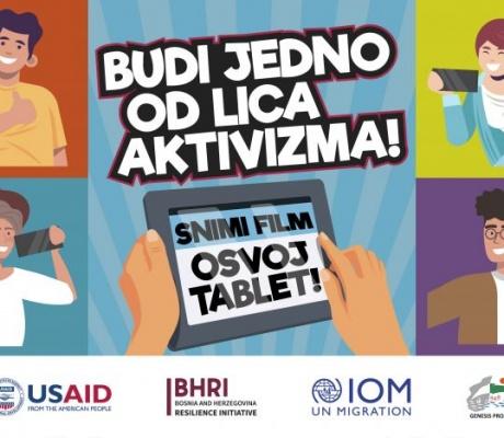 SVA LICA AKTIVIZMA: Snimite film, osvojite tablet!