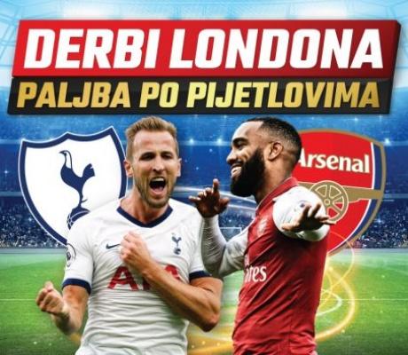 Uzbudljivi susret Totenhema i Arsenala uz fenomenalne bonuse!