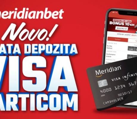 MERIDIANBET: Uplati depozit omiljenom karticom i bonus je tvoj